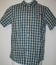 Authentic Oakley Men's Woven Checkered Shirt Top Polo Small BNWT RRP £45