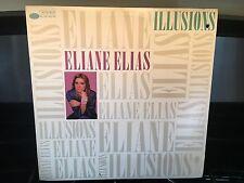ELIANE ELIAS - Illusions ~ BLUE NOTE 46994 {nm orig} w/Open letter promo ->RARE