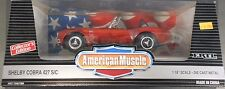 1/18 Scale Die-Cast Red Shelby Cobra 427 S/C by ERTL