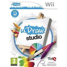 Nintendo Wii PAL version uDraw Studio artista al instante
