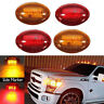 4pcs For 1999-2010 Ford F350 LED Dually Bed Front/Rear Side Fender Marker Light