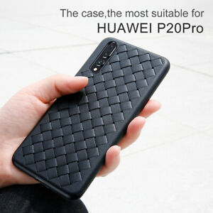 Baseus Grid BV Weaving Breathable Soft Protective Case Cover For Huawei P20/Pro