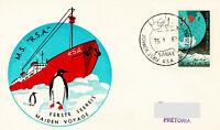 Polarpost Südafrika: MV RSA - MAYDEN VOYAGE - 1962