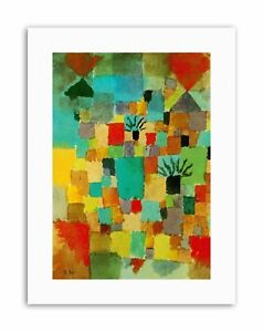 PAUL KLEE SOUTHERN TUNISIAN GARDENS 1919 Old Master Canvas art Prints