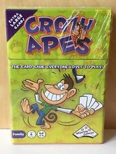 Crazy Apes Card Game - 4 Person Game - Ages 6+ - New, Sealed - Free Shipping