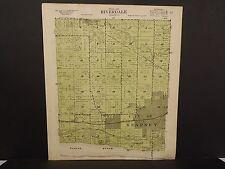 Nebraska Buffalo County Map Riverdale Township 1919 P5#92