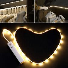 Nachtlicht mit Bewegungsmelder Bett Bettlicht LED Streifen PIR Lichtleiste DE