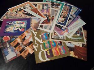 Collection lot 30 different Princess Diana souvenir stamp sheets
