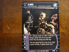 Star Wars TCG BOY 4x C-3PO (D)