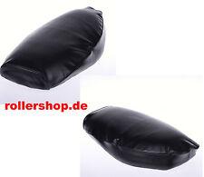 Sitzbank Überzug mit Gummiband schwarz für Vespa PX alt