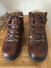 BRASHER LADY  Waterproof Walking Boots BROWN LEATHER UK 4 Good Condition