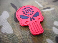 US SEAL TEAM 3 PUNISHER skull VELCR0 pvc PATCH BADGE nsw devgru lone survivor