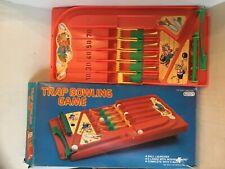 vintage trap bowling. Pin ball game , in original box  Palsty