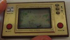 Parachute NINTENDO Game & Watch handheld lcd game SPESE GRATIS