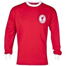 Solo maglia da calcio di squadre internazionali rosso a manica lunga