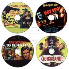 Film-Noir Crime Movie DVD Collection: Hot Spot, Quicksand, Kansas City Confid...