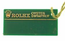 price tag U563561 Rolex original Submariner green