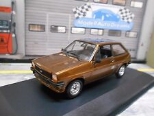 Ford Fiesta MKI 1 petites voitures 1976 Marron Brown Minichamps SP 1:43