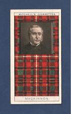 Mackinnon Clan Tartan Scotland 1927 original card Caisteal Maol Kyleakin