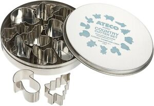 Ateco Country Farm Cookie Cutter Set