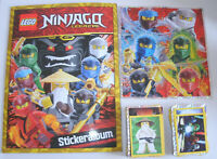 Lego Ninjago Legacy Sticker - Sammelalbum + alle 289 Sticker - komplett Set