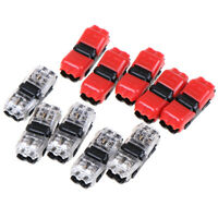5pcs I Shape Quick Splice Wire Wiring Electrical Connector Terminal