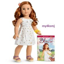 American Girl Blaire Wilson Doll and Book Doll of the Year 2019 Fast Shipping