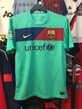 Para Hombres Barcelona Lejos Camiseta De Fútbol Talla M Nike 2010-2011
