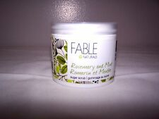 Fable Naturals Rosemary and Mint Sugar Scrub 130g