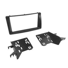 2 Din Radio Fascia With Brackets for Toyota Corolla Stereo Panel Dash Kit Frame
