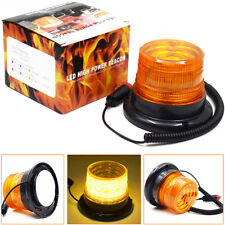 Autos Magnetic LED Emergency Beacon Flash Strobe Warning Light Amber 40W Perfect