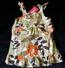 NWT GYMBOREE SAVANNA SUNSET JUNGLE DRESS 6-12 NEW