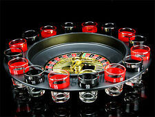 Shot Glass Roulette Casino Novelty Spin Drinking Game by Flintstop