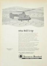 1960 AMERICAN STANDARD Military Products Help Wanted Engineers Vintage Print Ad
