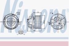 Nissens 87065 Gebläse Motor Citroen C5 00