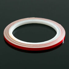 Reflektierendes Klebeband 3M 610c Reflektorband selbstklebend Folie Rot 5mm