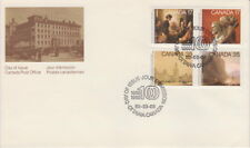 CANADA #849-852 ACADEMY OF ARTS COMBINATION FIRST DAY COVER