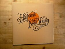 Neil Young Harvest A3/B3 Press Near Mint Vinyl LP Record K 54005 & Lyric Sheet
