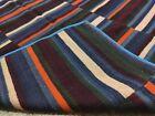 Antique Tibetan Textile size 95 Cm x 92 Cm Natural fabric Yak wool Blanket BT12