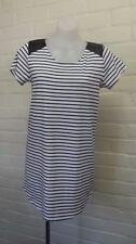 Stripes 100% Cotton Shirt Dresses for Women