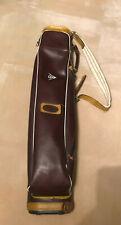 Vintage Dunlop Golf Bag. 60's 70's. Lightweight For Half Set? Leather?