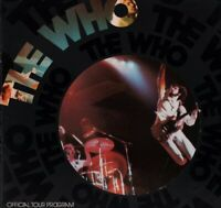 THE WHO 1975 BY THE NUMBERS U.S. TOUR CONCERT PROGRAM BOOK / PETE TOWNSHEND