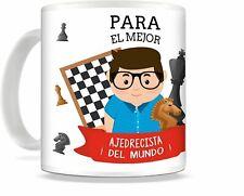 Taza de Desayuno ajedrez mejor ajedrecista, regalo ajedrez , taza ajedrez
