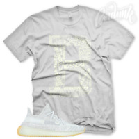 """B BLESSED"" T Shirt for Yeezy 350 Yeshaya Reflective Salt Citrin Sesame Butter"