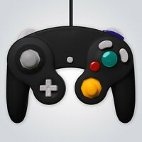 GameCube Controller Wired Black for Nintendo GC Wii Console Joypad Gamepad