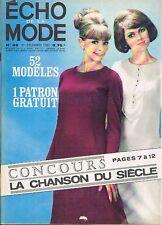 Echo de la Mode 48 de 1963 Claude François