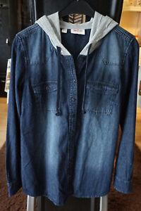 Jeanshemd mit Kapuze von John Baner,Gr.40,Neuwertig