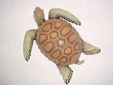 "6"" TURTLE Wall Decor Tropical Fish Beach Nursery Bath Ocean Aquatic Sea Tortoise"