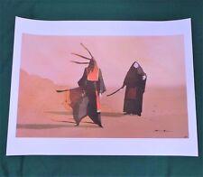 "Journey Masked Travelers Giclee Art Print Poster Signed by Matt Nava 18x24"" Sony"