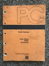 John Deere 690C Excavator Parts Catalog Manual PC-1979